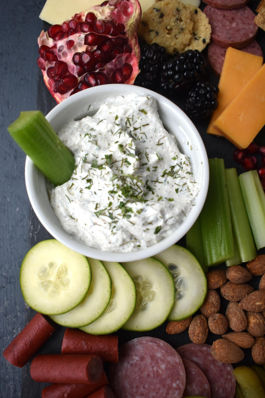 Homemade Greek Yogurt Ranch Dip