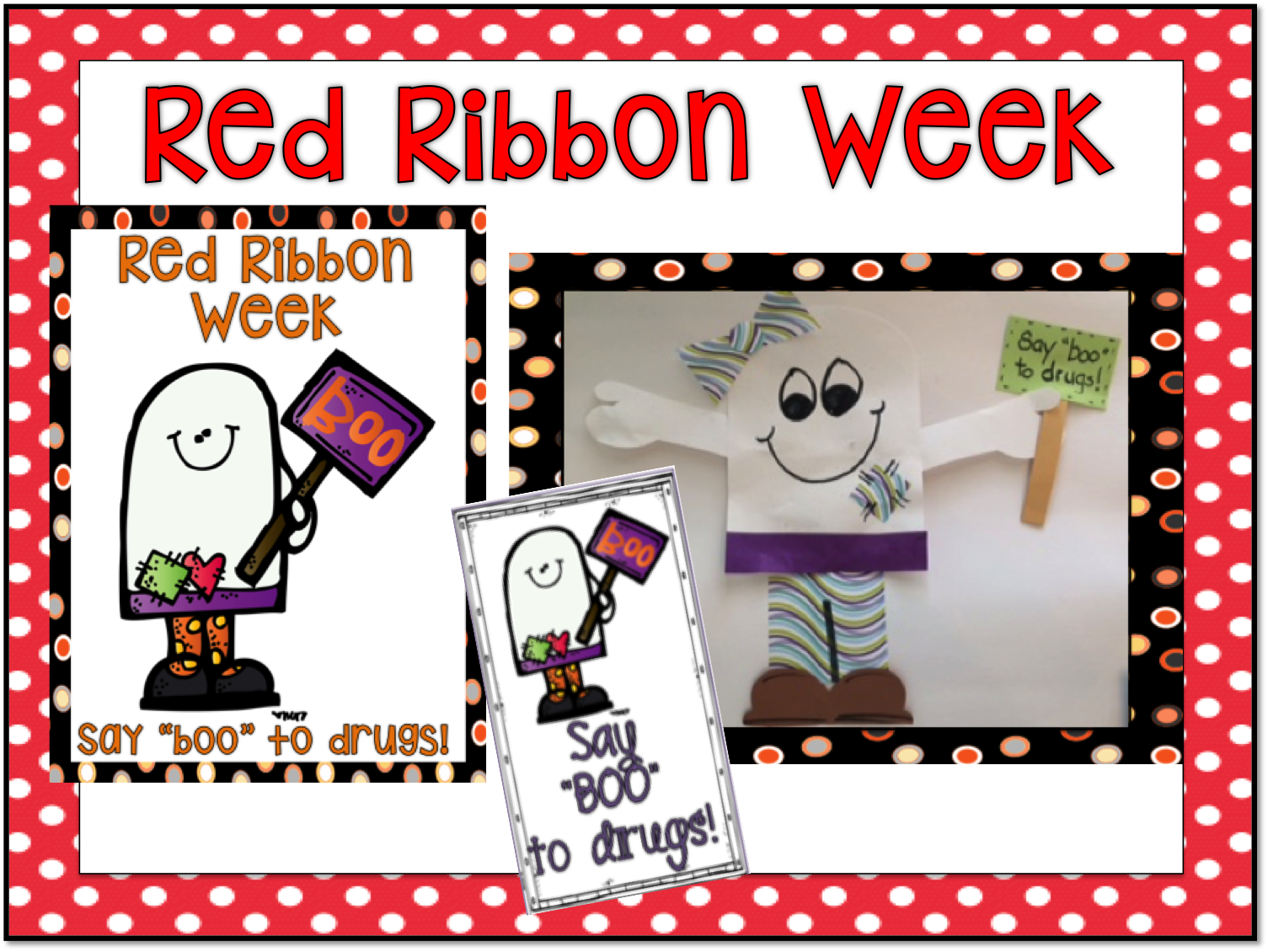 1st Grade Hip Hip Hooray Red Ribbon Week