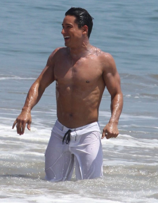 Banana Hunks Celebrity Hunk Mario Lopez Nude And Wet See -6865