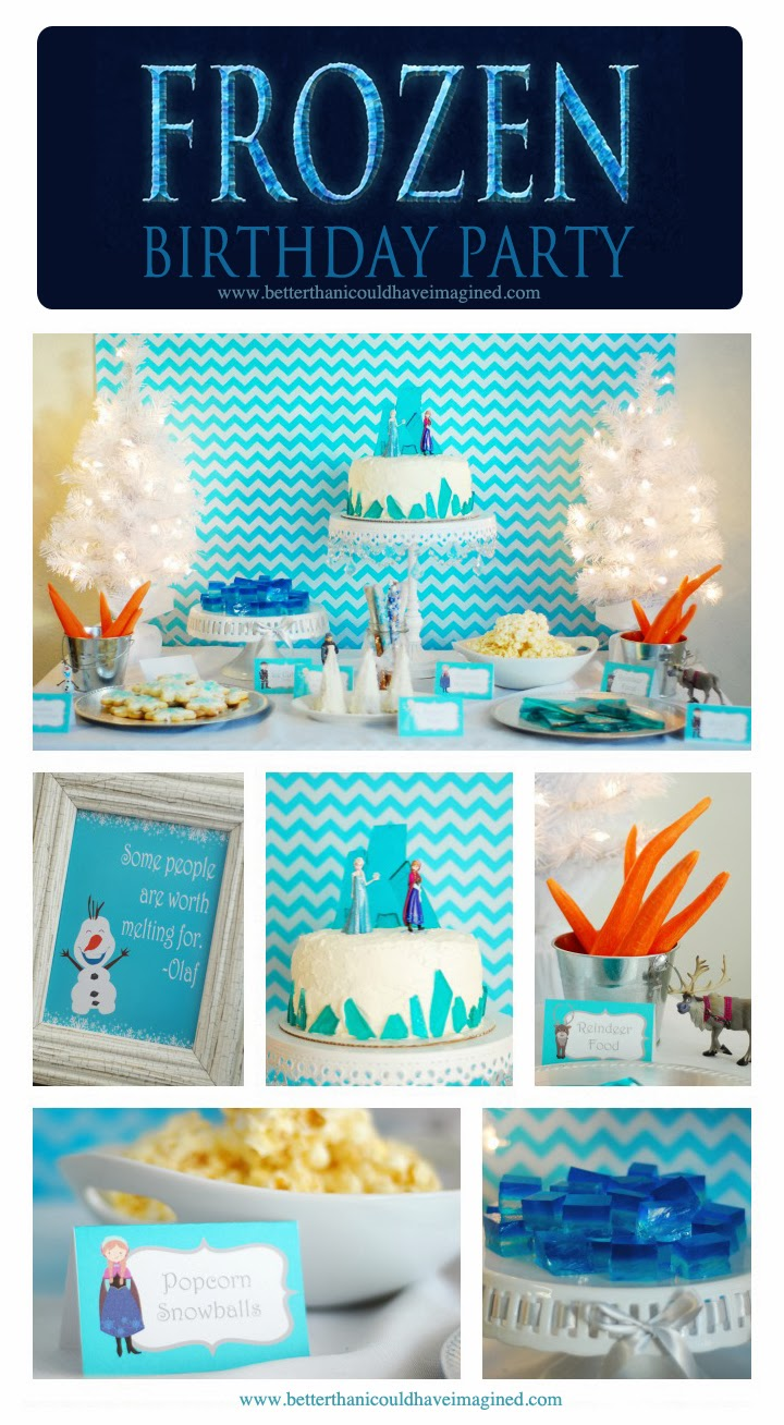 better than i could have imagined: Grace's Frozen Birthday ...