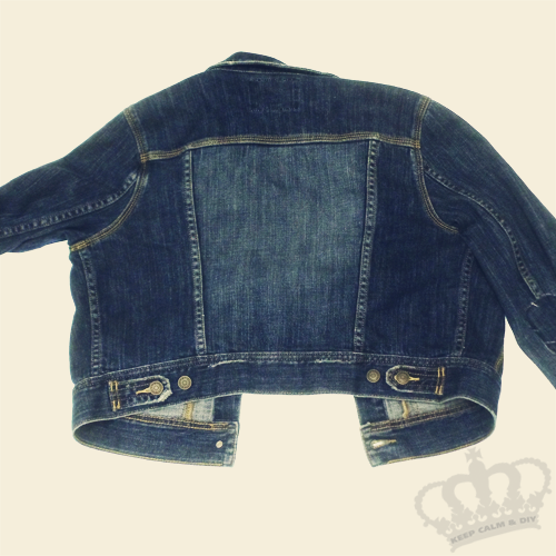 Keep Calm Do It Yourself Diy Balmain Denim Jacket Tutorial