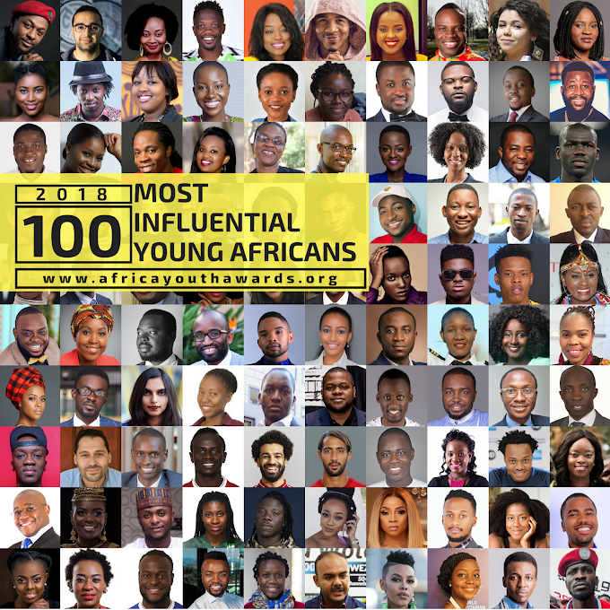2018 100 Most Influential Young Africans Announced