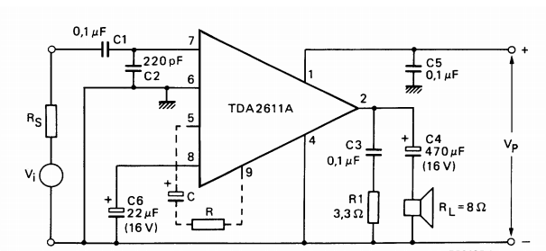 simple 5 watt class a audio amplifier