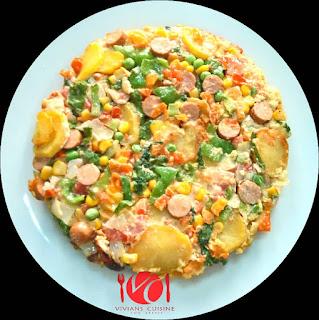 How to Make Potatoe Fritata 7