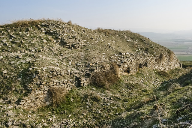 Frente oriental del castillo de Antioquía.