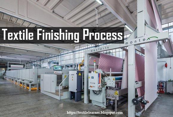 Textile finishing