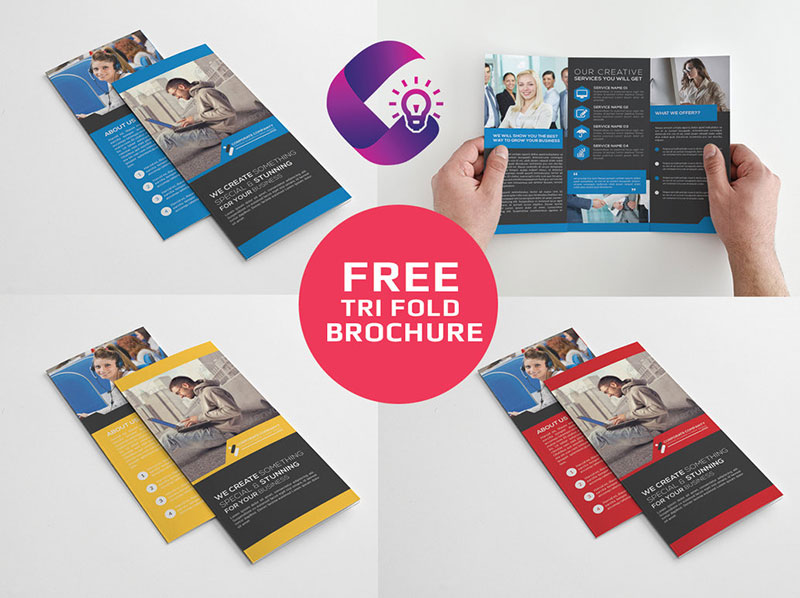 Freebie Tri-Fold Corporate Brochure