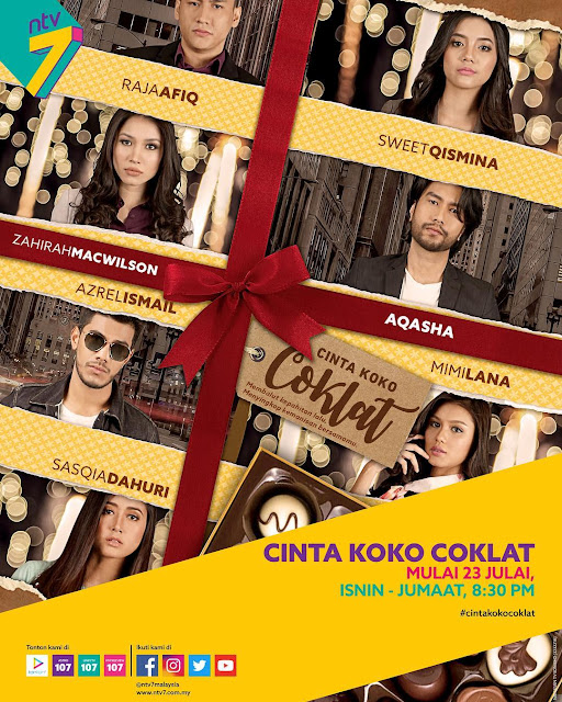 Sinopsis Drama Cinta Koko Coklat Lakonan Zahirah MacWilson dan Aqasha