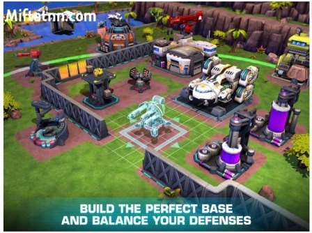 Game Strategy Android Online Dawn of Steel Mod Apk