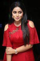 Poorna in Maroon Dress at Rakshasi movie Press meet Cute Pics ~  Exclusive 100.JPG