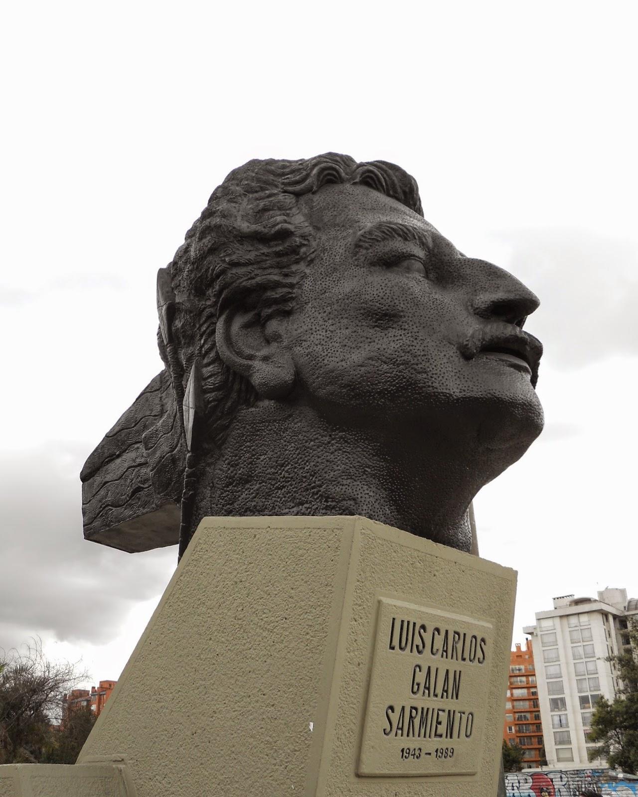 Distrito entrega restauración de monumento a Luis Carlos Galán ...