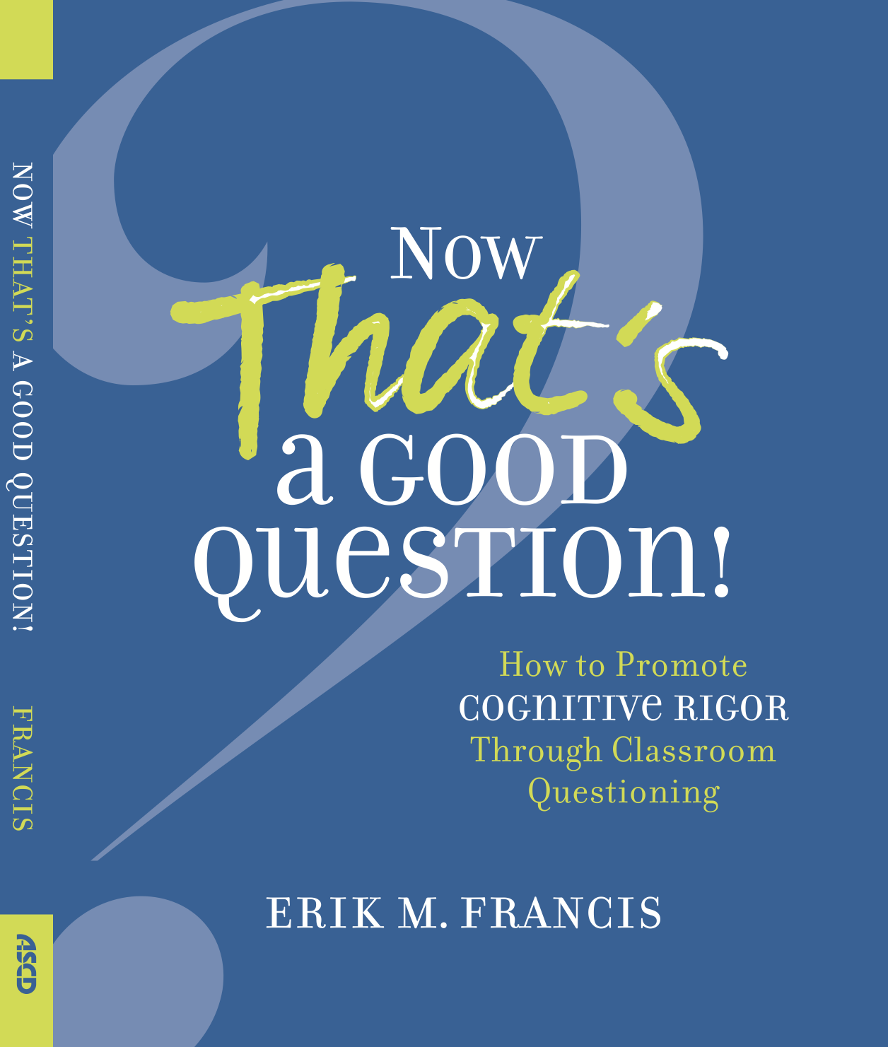 NOW AVAILABLE FOR PRE-ORDER FROM ASCD!