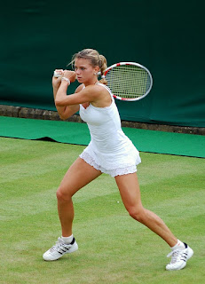 Giorgi reached the quarter-finals at the  Wimbledon Championships in 2018