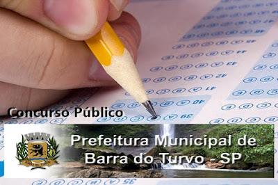Concurso Prefeitura de Barra do Turvo - SP