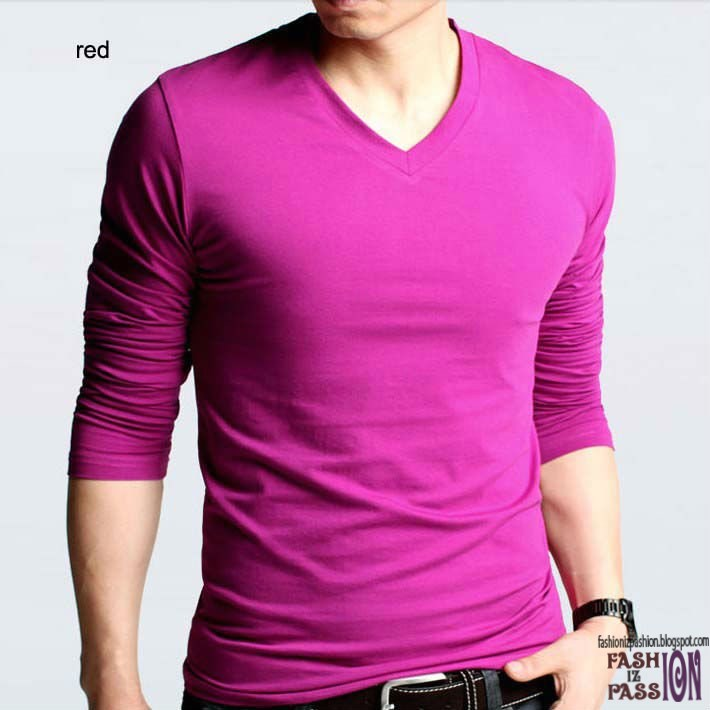 New style for men t shirt