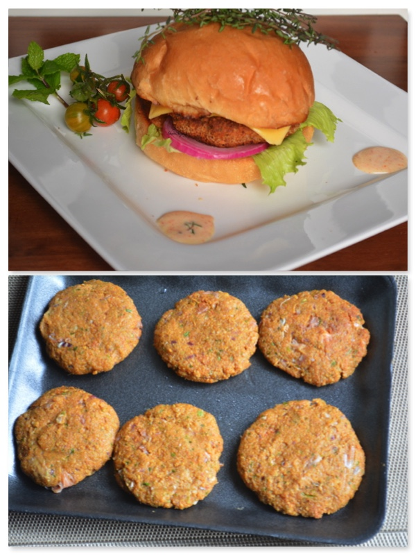 how to make hot chilli burger patties