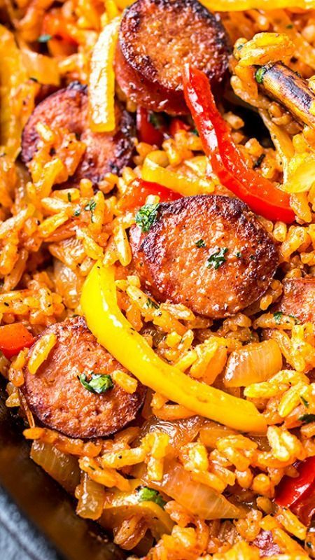 Smoked Sausage And Red Rice Skillet, And Giving One Another The Fredom To Just Be