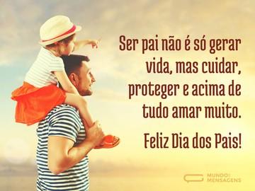 Confira aqui no Belas Mensagens as melhores Mensagens do Dia dos Pais para ler, enviar e compartilhar nas redes sociais