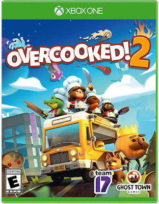 Overcooked 2 Game Cover Xbox One