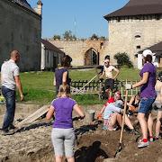Розпочався археологічний сезон на территорії Меджибіжської фортеці