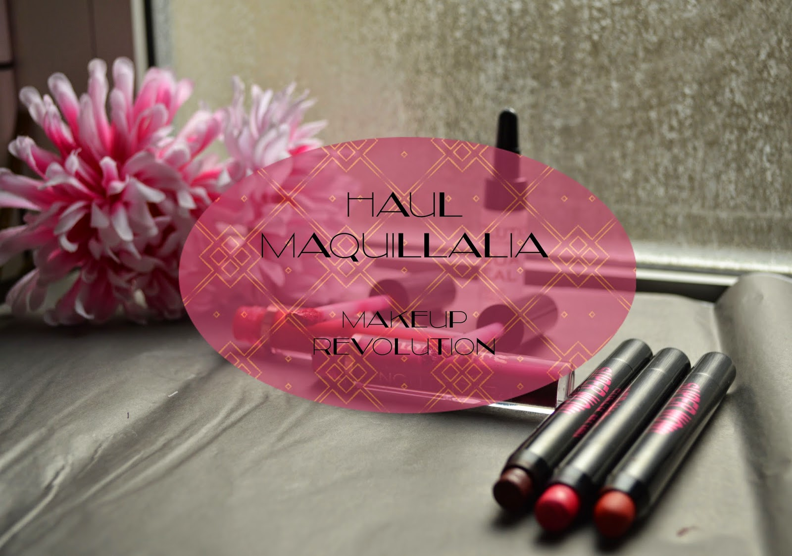 Haul Maquillalia with Makeup Revolution Products