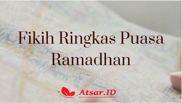 Fikih Ringkas Puasa Ramadhan
