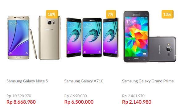 Samsung Galaxy Murah di Blanja.com