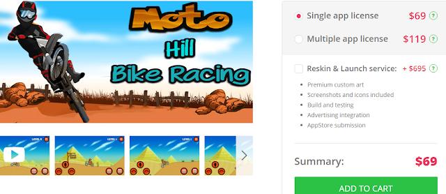 Moto Bike Hill Racing | Complete Project Capture
