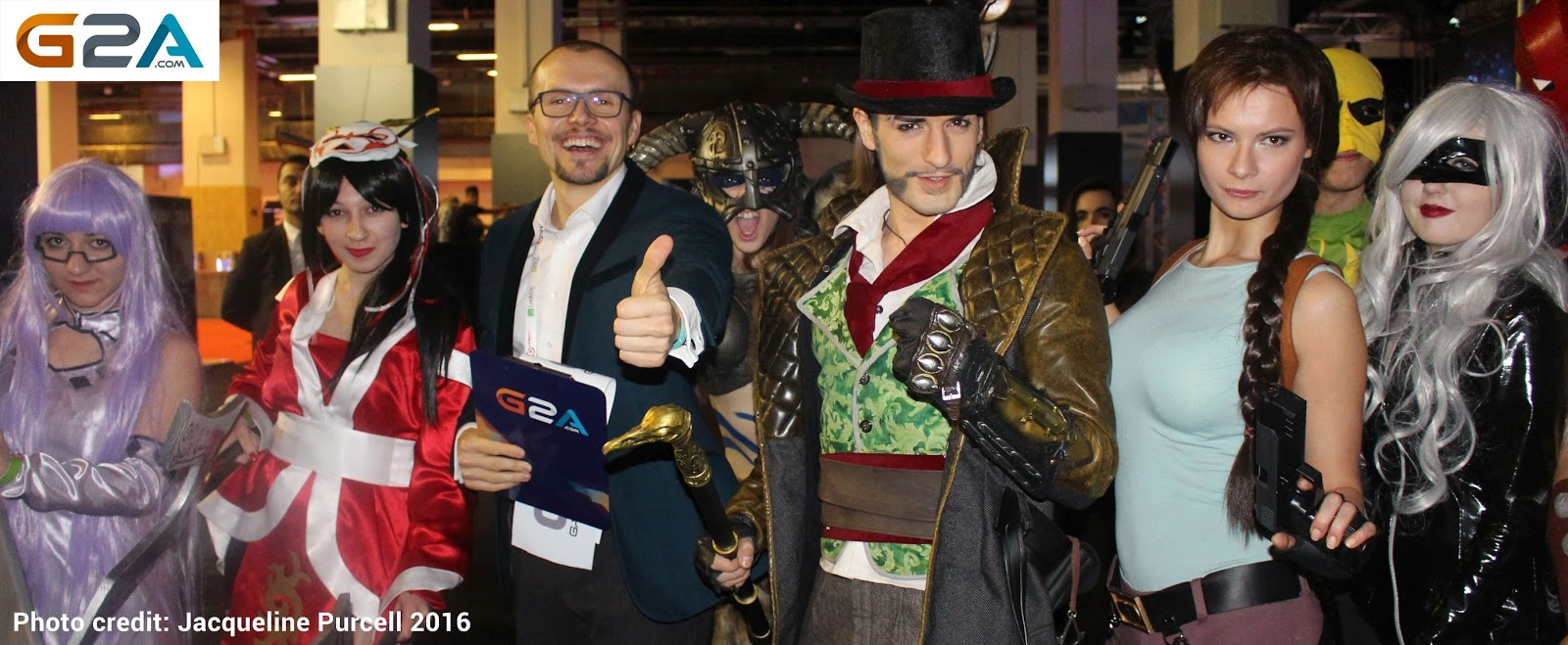 G2A COM Entertains Gamers at GIST, Gaming Istanbul 2016