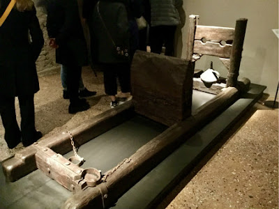 "Water torture - modern-day replica for ""Venice Secrets"" exhibition - Photo: Cat Bauer"