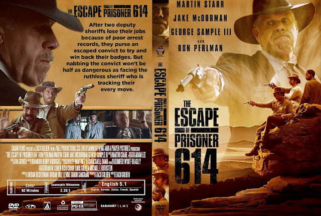 The Escape of Prisoner 614 DVD Cover