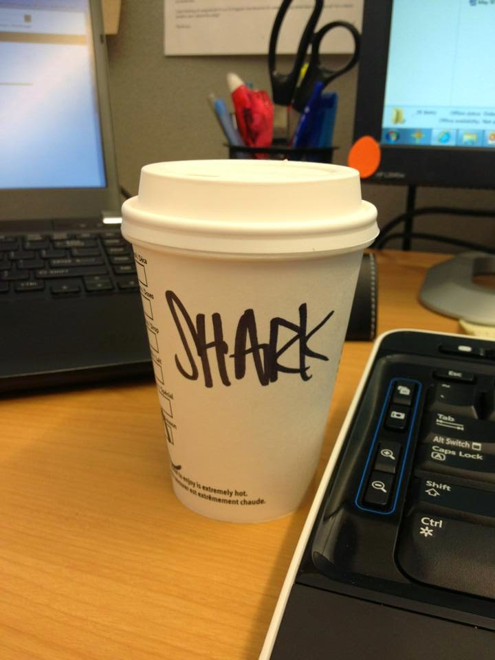 Starbucks cup mistaken identities