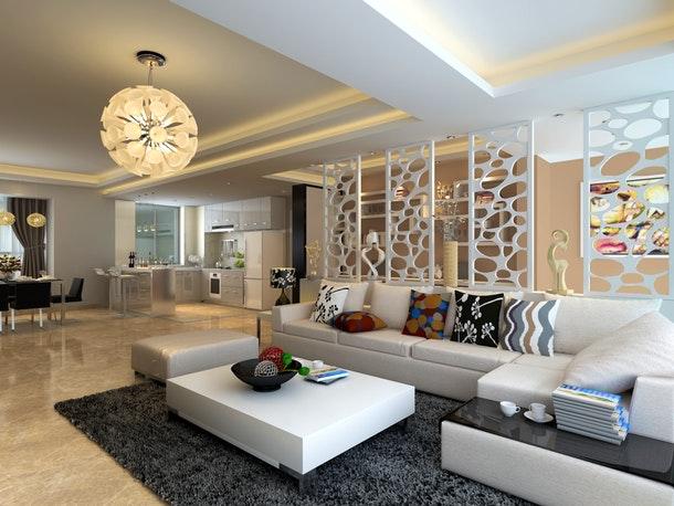 trang trí phòng khách đẹp tphcm