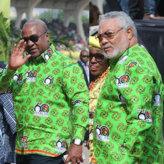 Mahama, Rawlings and Kufuor grace Independence Day