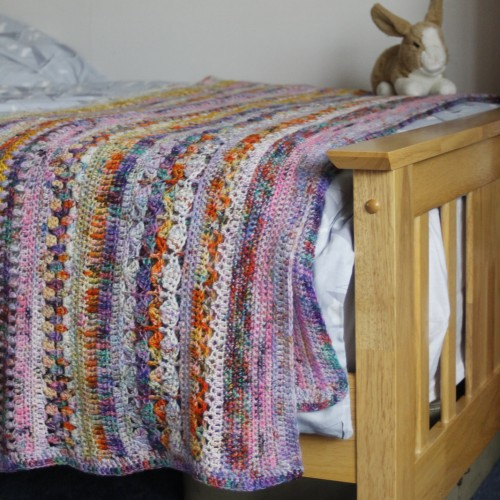 Spice of Life Blanket - Free Pattern