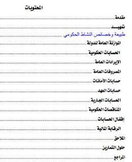 المحاسبة الحكومية pdf