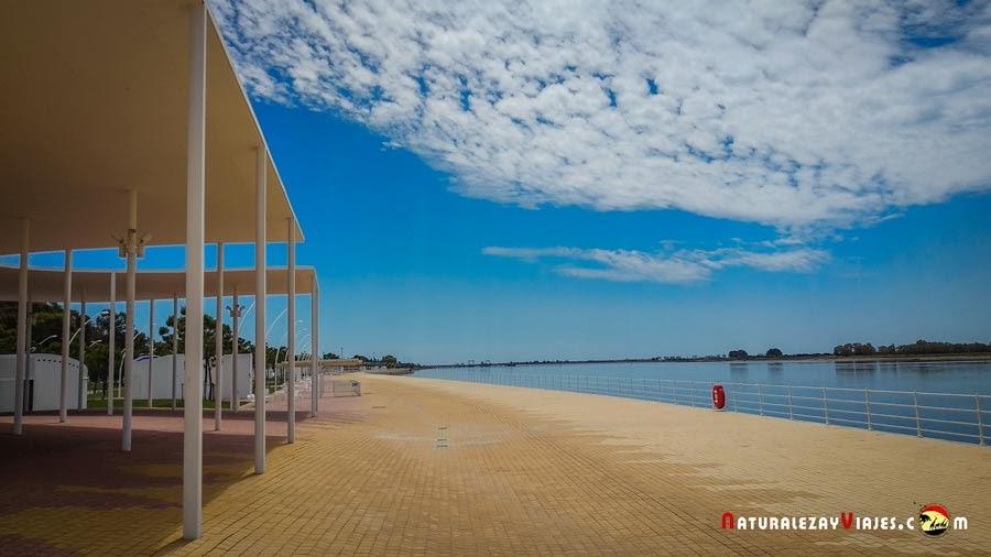 Paseo de la Ría, Huelva