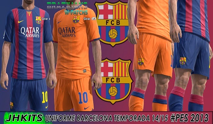 MODS PES 2010  KIT SET BARCELONA 2014 2015 PES 2010 PES 2013 c801754a5f4b9
