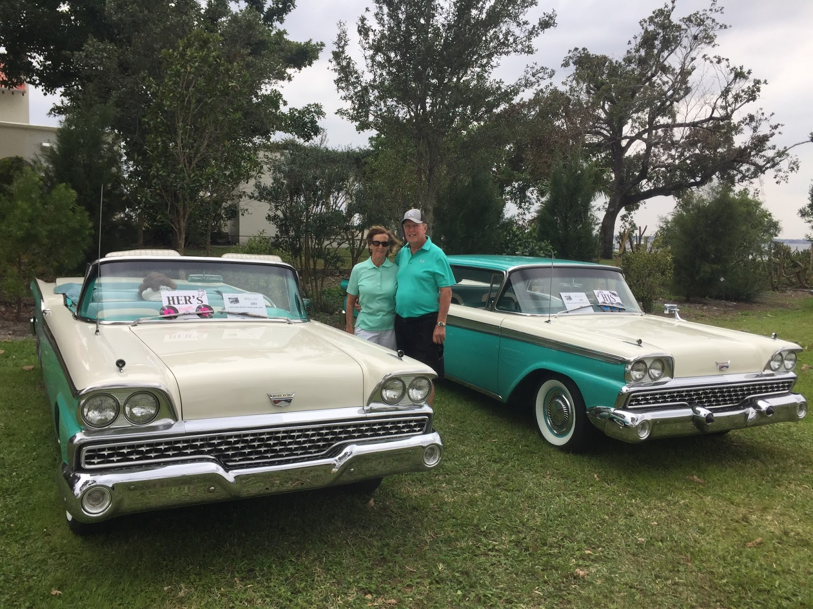 The Cruising Adventures Of Wally And Darcy - Edison car show ft myers