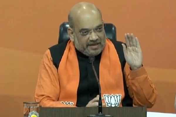 अमित शाह बोले, गुजरात में कांग्रेस ने जातिवाद भड़काया क्योंकि GST और नोटबंदी हिमाचल के लिए भी था