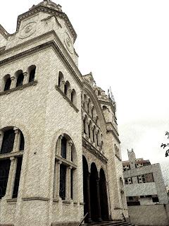 A Fachada da Catedral Ortodoxa de São Paulo