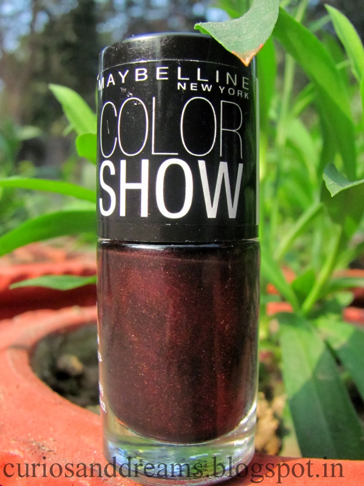 Maybelline Color Show Wine and Dine Review, Maybelline Color Show