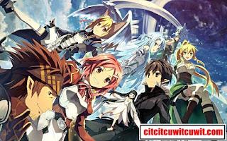 sword art online anime terbaik sepanjang masa nomor 9
