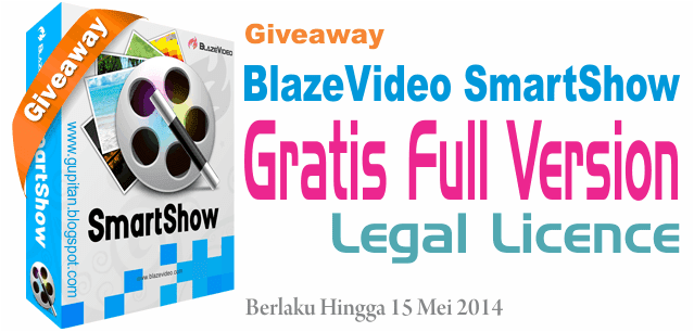 Download BlazeVideo SmartShow Legal License Key Gratis!