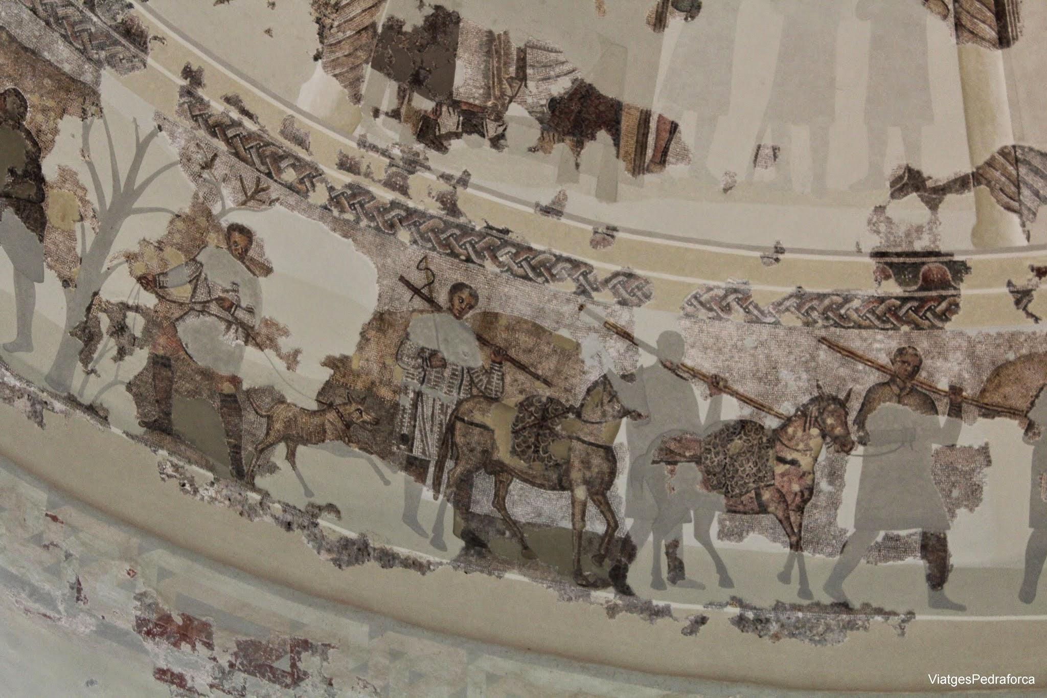 Vil.la romana de Centcelles mosaics Constanti Conjunt Arqueologic de Tarraco