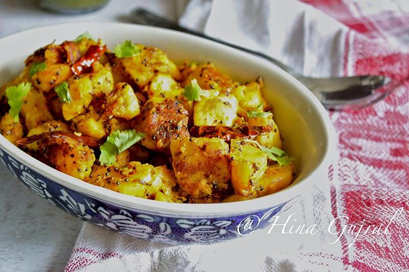 Aloo ke Gutke Recipe (Stir Fried Potato Pahadi Style)