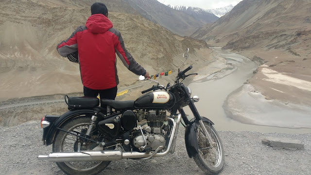 Motorcycling in Leh Ladakh