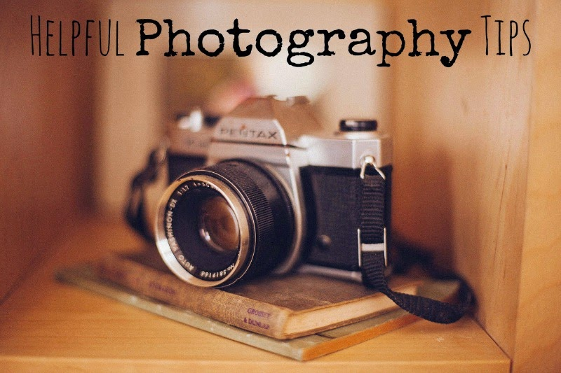 helpful photography tips