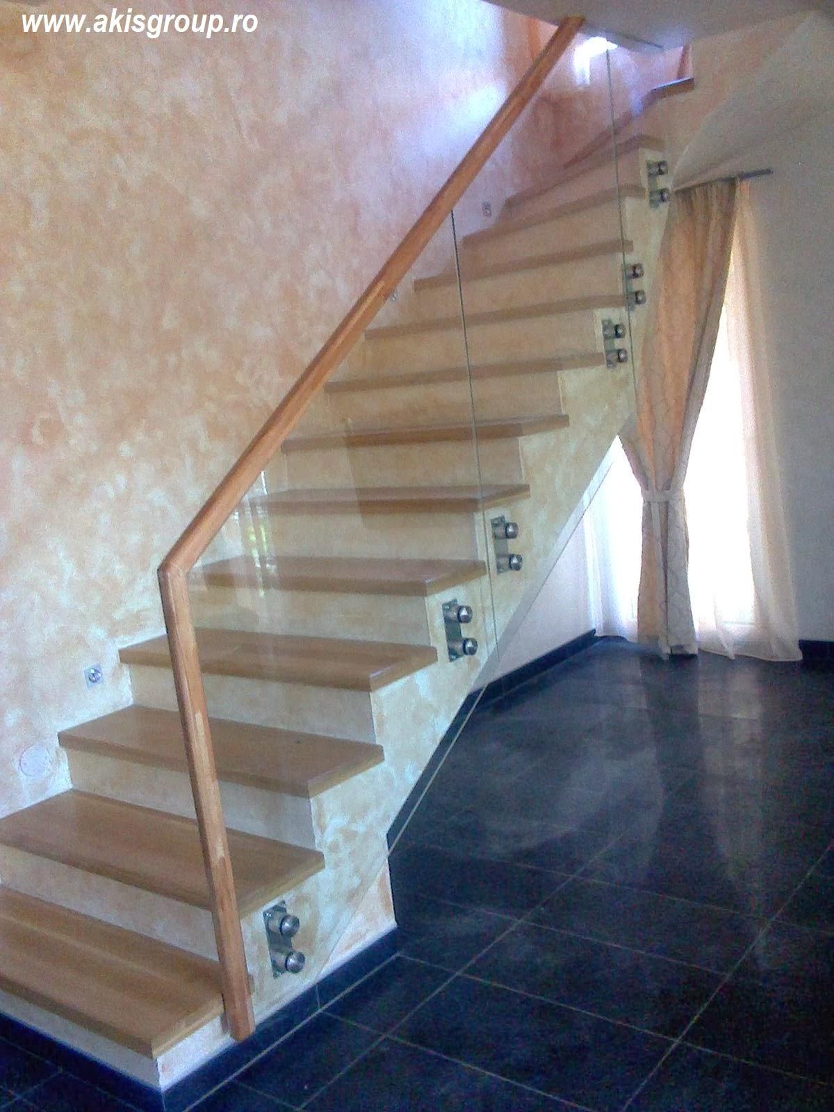 Treppengelander Holz Modern Vario Treppen Plz 36179 Bebra