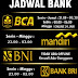 JADWAL BANK OFFLINE PELANGI99